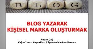 Blog Yazarak Kişisel Marka Oluşturmak