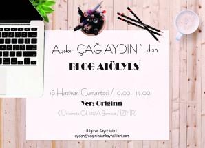 İzmir'de Blog Atölyesi